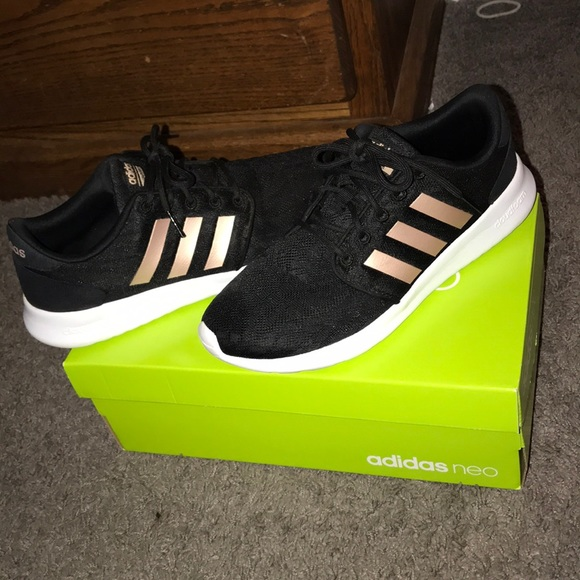 separation shoes 5aa8e 404dc adidas Shoes - Adidas neo black   rose gold